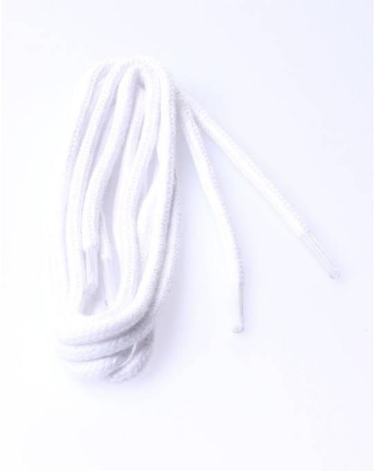 Round laces 150cm white